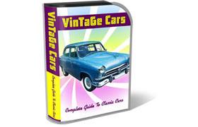 Vintage Cars HTML PSD Template