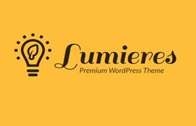 Lumieres Premium WordPress Theme and Plugin