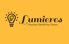 Lumieres Premium Wordpress Theme and Plugin