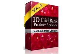 10 Clickbank Product Reviews Vol 3 – Health and Fitness Category