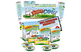 How To Milk It From Cash Cow System HTML PSD Minisite Template