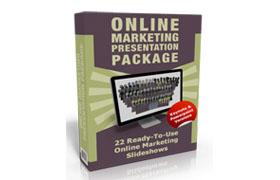 Online Marketing Presentation Package