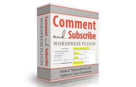 Comment and Subscribe WordPress Plugin