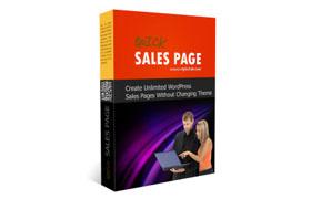 Quick Sales Page WP Plugin