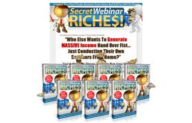 Secret Webinar Riches PSD Minisite Template