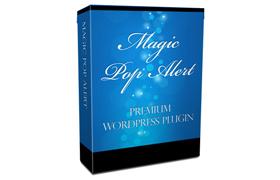 Magic Pop Alert Premium WordPress Plugin
