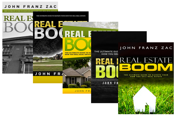 5 Real Estate Ebook PSD PNG Cover Templates