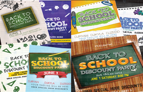 7 Back To School Flyer PSD Templates