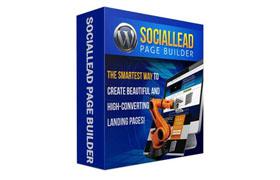 SocialLead Page Builder WP Plugin