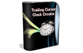 Trailing Cursor Clock Creator