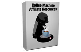 Coffee Machine Affiliate Resources