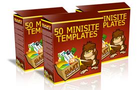 50 Minisite Templates