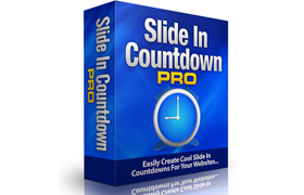 Slide In Countdown PRO