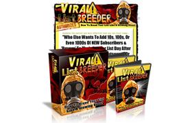 Viral List Breeder Minisite PSD Template