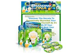 Web Branding DNA PSD Minisite Template