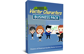 Premium Vector Characters Business Pack