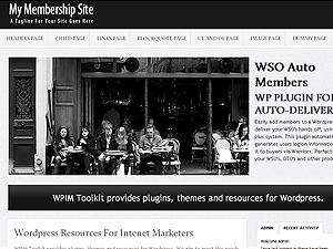 Clean Membership Wordpress Theme