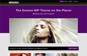 Miranda Premium Wordpress Theme