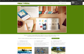 Omaterra Wordpress Theme
