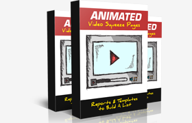 Animated Video Squeeze Pages