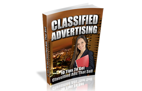 Classified Advertising Niche Minisite PSD HTML Template