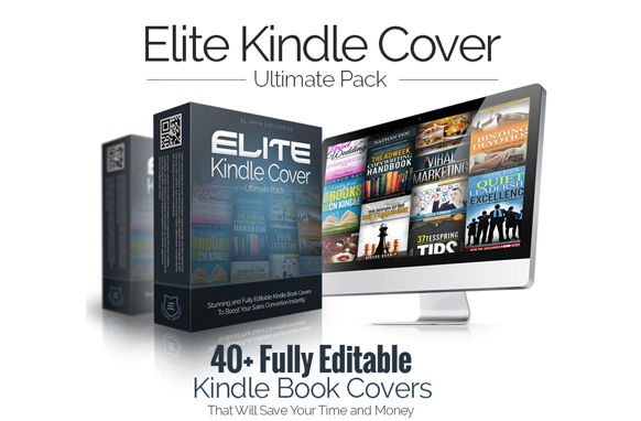 Kindle Book Cover Design Software : Elite kindle ecovers plr database