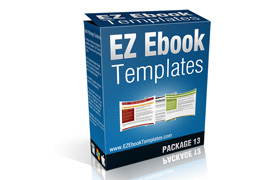 EZ Ebook Templates Package V13