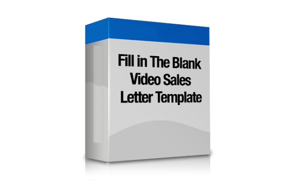 Fill In The Blank Video Sales Letter Templates Plr Database