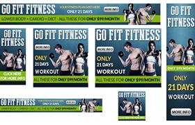 Fitness Advertisement PSD JPG Banners Vol 2