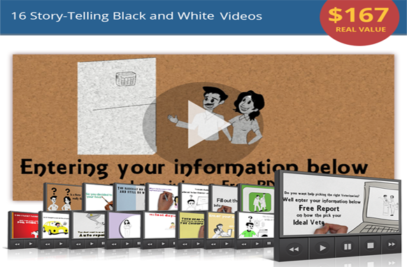 16 Story-Telling Black and White Videos