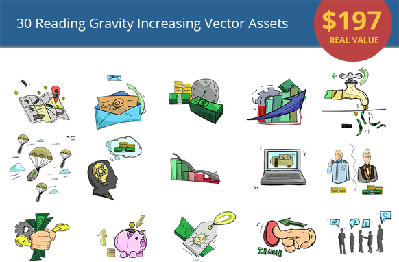30 Reading Gravity Increasing Vector Assets