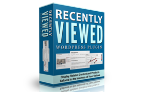 Recently Viewed WordPress Plugin