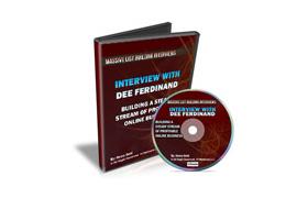 Interview With Dee Ferdinand