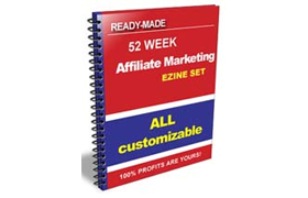 Made Ready 52 Week Affiliate Marketing Ezine Set