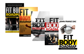 Fitness Book Cover PSD Templates Set