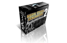 Media Studio Generators 2 – Royalty Free Music