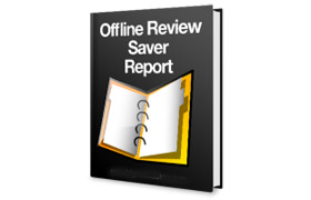 Offline Review Saver Report