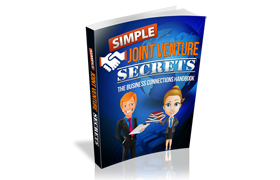 Simple Joint Venture Secrets