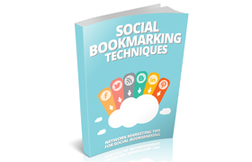 Social Bookmarketing Techniques