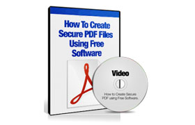 How To Create Secure PDF Files Using Free Software