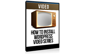 How To Install Wordpress Video Series