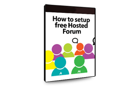 How To Setup Free Hosted Forum