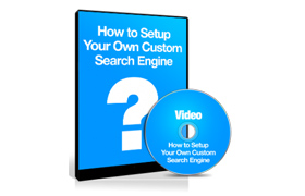 How To Setup Your Own Custom Search Engine