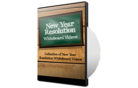 New Year Resolution Whiteboard Videos