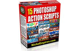 15 Photoshop Action Script Collection