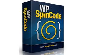 WP Spin Code Plugin