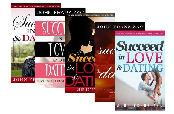 Love And Dating Ebook PSD PNG Cover Templates
