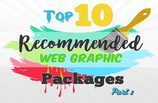 Top 10 Recommended Web Graphic Packages Part 1