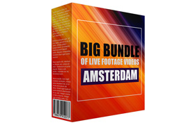 Big Bundle of Live Footage Videos in Amsterdam