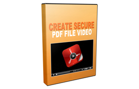 Create Secure PDF File Video